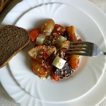 Овощи, жаренные в духовке