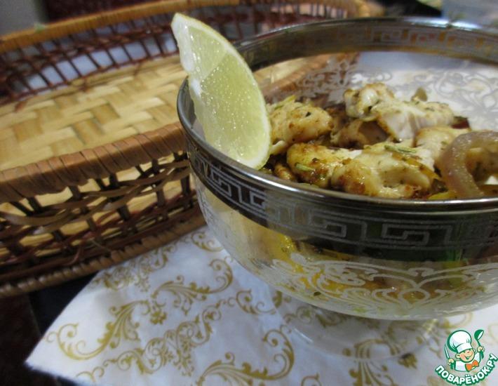 Рецепт: Теплый салат