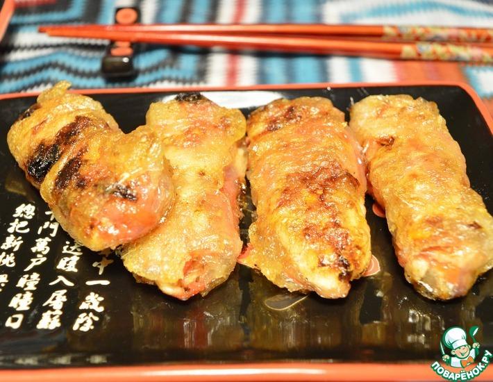 Рецепт: Нэм с курицей и помидорами