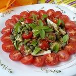 Салат с куриным филе и каперсами