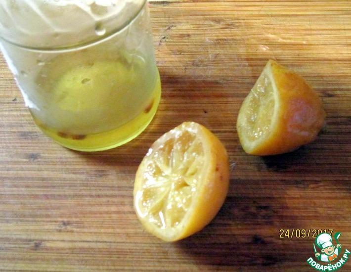 Рецепт: Солёные лимоны по-мароккански