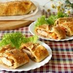 Закусочный пирог с курицей по-итальянски