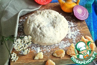 Рецепт: Тесто для пиццы на манке