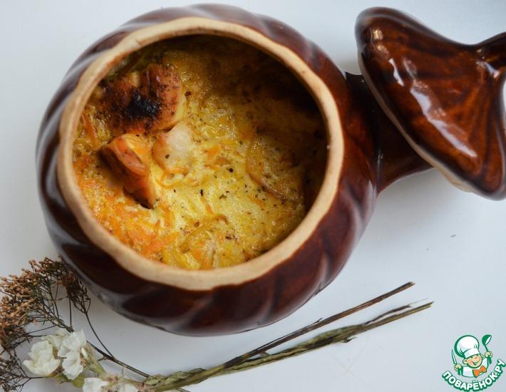 Рецепт: Гульчехра в порционных горшочках
