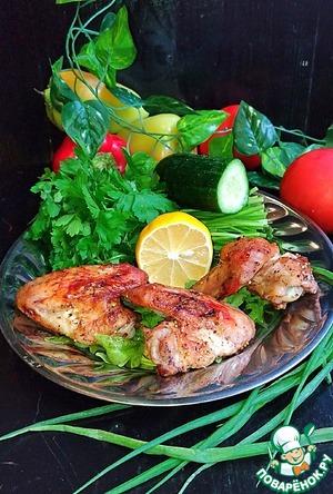 Рецепт: Куриные крылья Фавориты