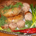 Простая домашняя колбаса из индейки