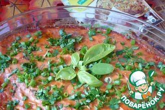 Рецепт: Куриная грудка в томатном соусе