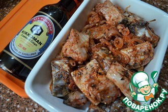 Рецепт: Карп по-корейски