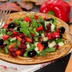 Салат Две фасольки