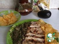 Закуска из авокадо и курицы ингредиенты