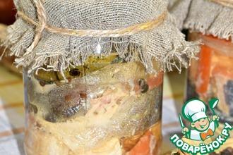 Рецепт: Рыбные консервы в мультиварке