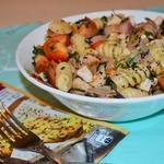 Салат с джирандоле и беконом
