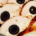 Куриный рулет Черные глаза