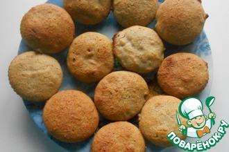 Рецепт: Амарантовое печенье а-ля Мадлен