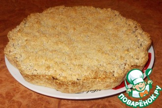 Рецепт: Тертый пирог Быстрый