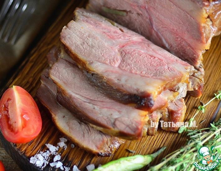 Рецепт: Запеченная свинина Сочная