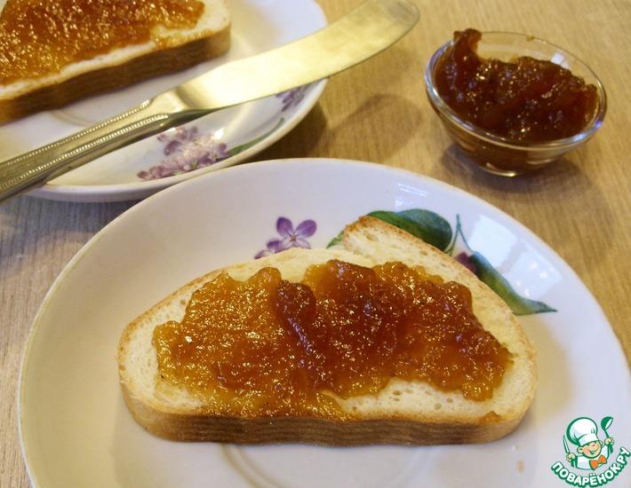 Рецепт: Мармелад из калины и яблок