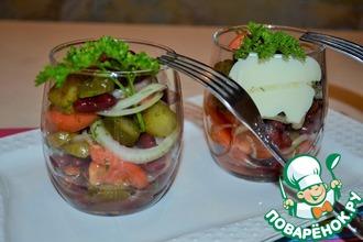 Рецепт: Салат 6 соток