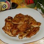 Куриная грудка в яблочно-медовой карамели