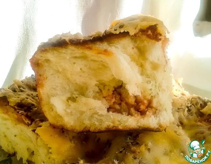 Рецепт: Пирожки с мясом Бочонки