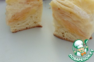 Рецепт: Пирог яблочно-лимонный