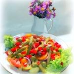 Салат из овощей Сытный