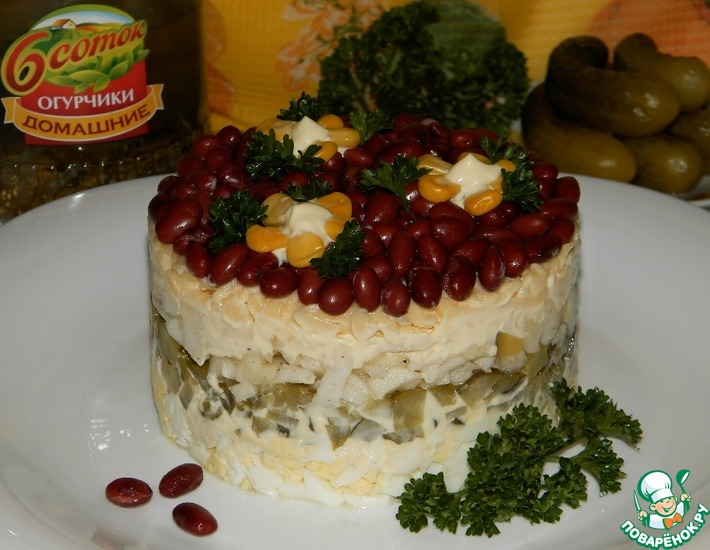 Рецепт: Салат Мимино
