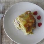 Пирог из картофеля с мясным фаршем