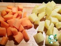 Овощной суп на говяжьем бульоне Любимый ингредиенты