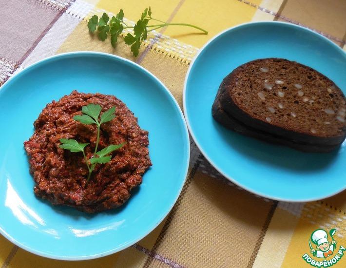 Рецепт: Аджика из горького перца