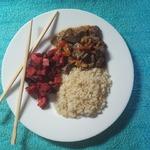 Быстрый сливочно-жасминовый рис в СВЧ