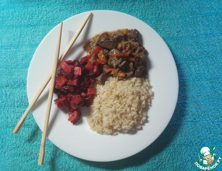 Рецепт: Быстрый сливочно-жасминовый рис в СВЧ
