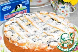 Рецепт: Маковый пирог Любимый