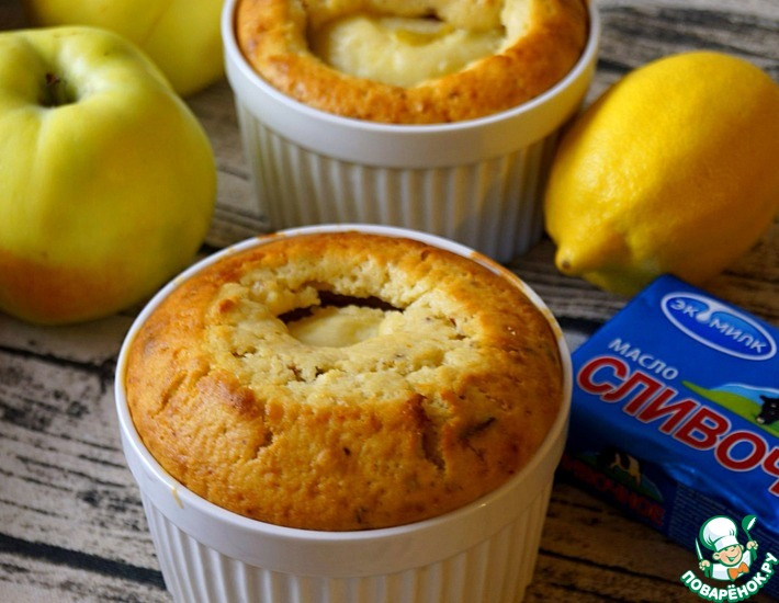 Яблоки в хрустящем ореховом тесте