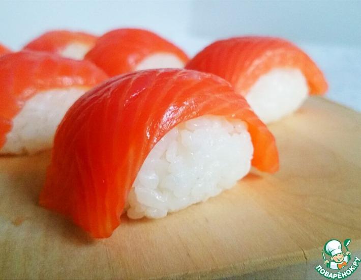 Рецепт: Подготовка риса для суши и роллов