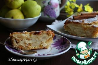 Рецепт: Яблочный пирог Невидимый
