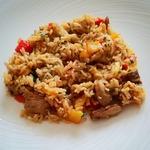 Жареный рис по-тайски Као пад му
