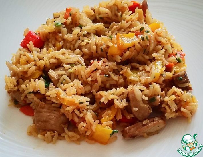 Рецепт: Жареный рис по-тайски Као пад му