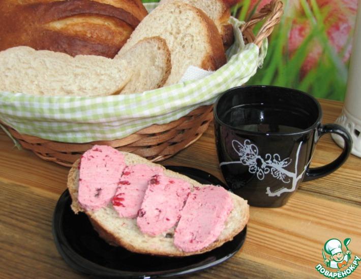 Рецепт: Десертный хлеб с вишневым маслом