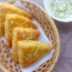 Сконы с сыром и луковым маслом