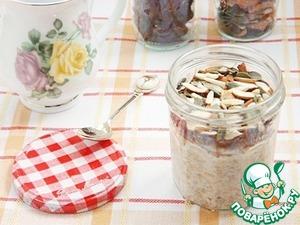 Lazy Orekhovo-date oatmeal