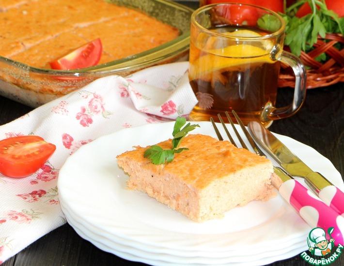 Рецепт: Рыбное суфле Утро доброе
