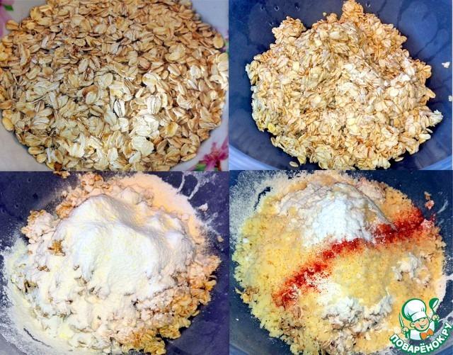 Печенье сырно-овсяное
