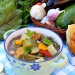 Грузинский суп по-дачному