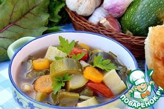 Рецепт: Грузинский суп по-дачному