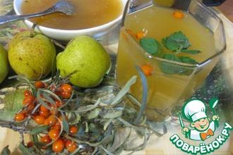 Рецепт: Чай по-деревенски Осенний вечерок