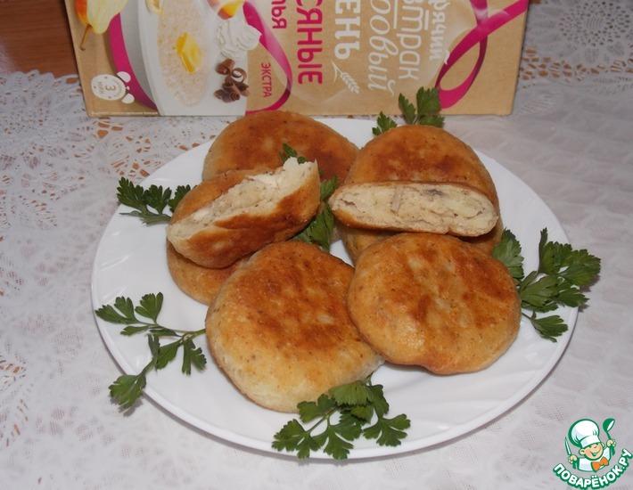 Рецепт: Овсяные лепёшки Для завтрака