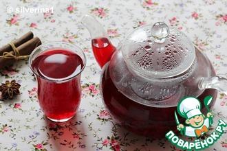 Рецепт: Вишнёвый чай с пряностями