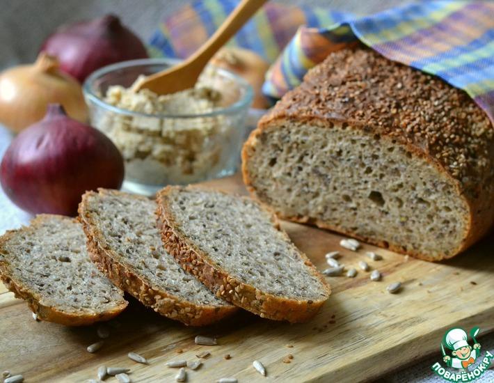 Рецепт: Темный хлеб Сельский