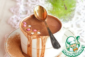 Рецепт: Гречневое какао с мёдом и корицей